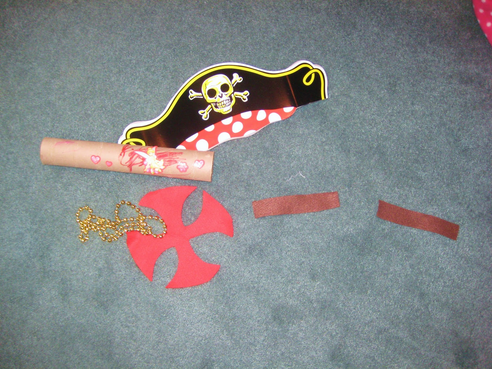 Pirate crafts for toddlers - Kids Craft A Pirate S Life For Me