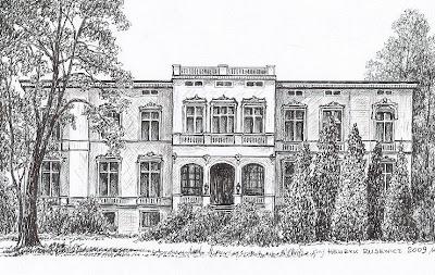 Pałac w Ścinawie – stan przed 1945 r.