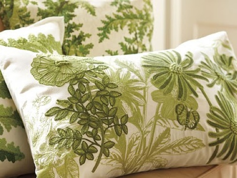 Beauty And The Green Bring In Spring With Throw Pillows