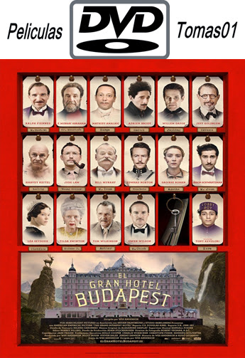 El Gran Hotel Budapest (2014) DVDRip