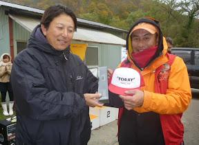 6位 清水隆男プロ 表彰