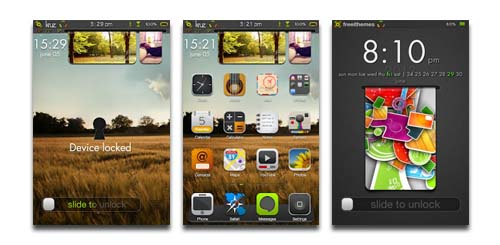 kruzHD iPhone 4S Theme