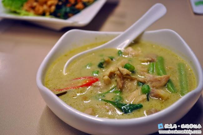 泰炘泰式料理綠咖哩椰汁雞