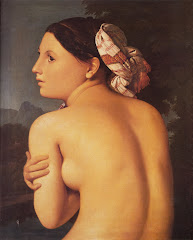 INGRES, Jean Auguste Dominique Half-figure of a Bather, 1807