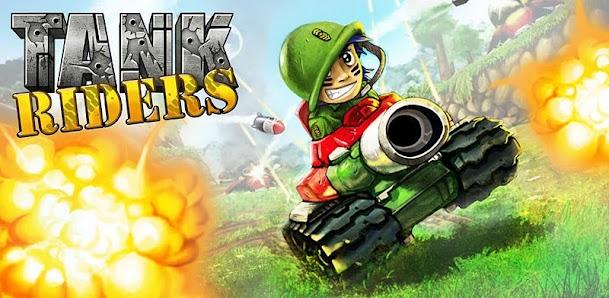 Tank Riders v1.0.1 - Game bắn xe tăng với đồ họa đẹp