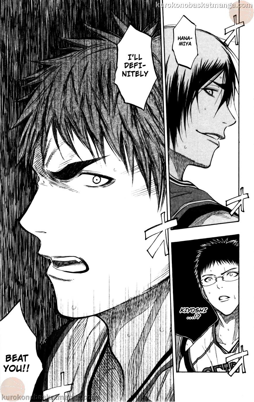 Kuroko no Basket Manga Chapter 101 - Image 18
