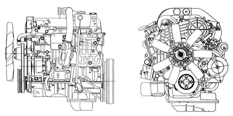 bedford cf org • view topic bedford cf engine midi the only similarity the gm diesel engine is the bosch ve injection pump mounted horizontally instead of vertically like on the gm engine