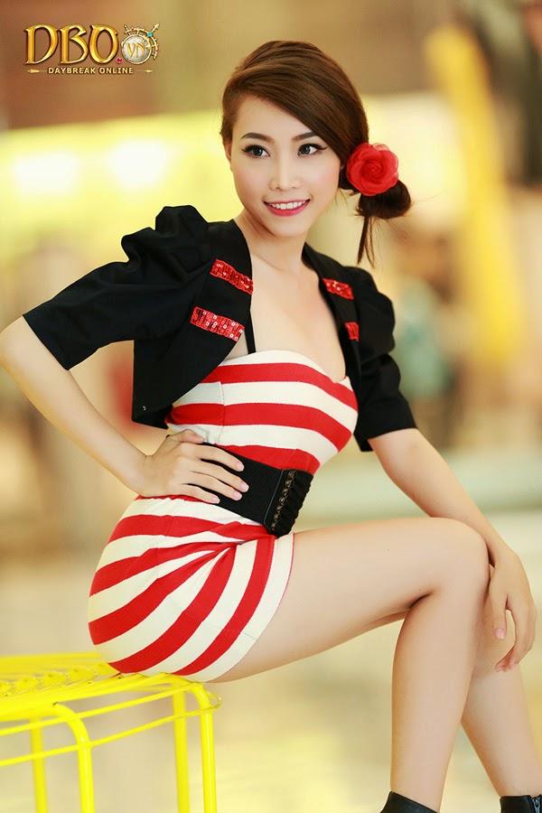 Ngắm bộ ảnh cực đẹp của các hotgirl Daybreak Online 17