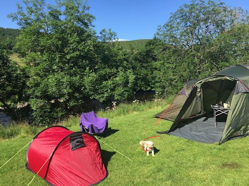 Camping  at Masons Camp Site