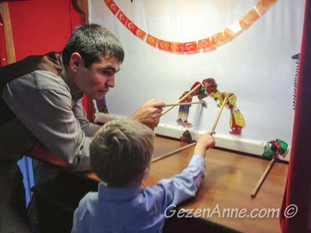 oğlum gölge oyunu oynatırken, Yaşayan Müze Beypazarı