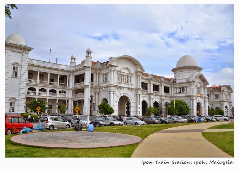 Ipoh Railway Station, Ipoh, Perak, Malaysia