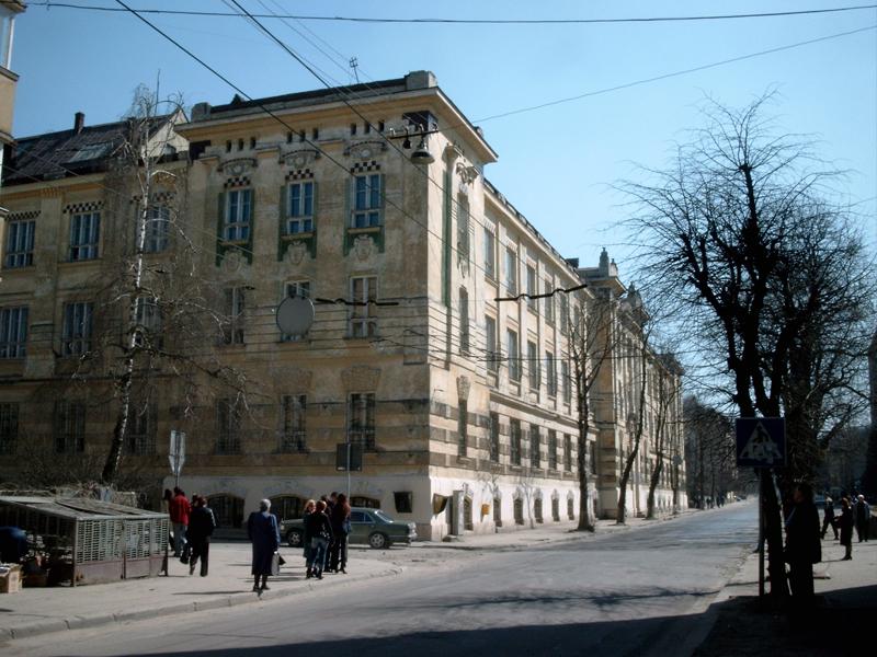 Львов. Улица Снопковская