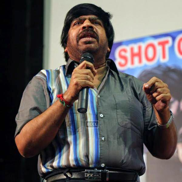 T Rajender speaks during the audio launch of Tamil movie, held in Chennai.