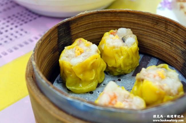 香港金寶茶餐廳蟹黃靚燒賣