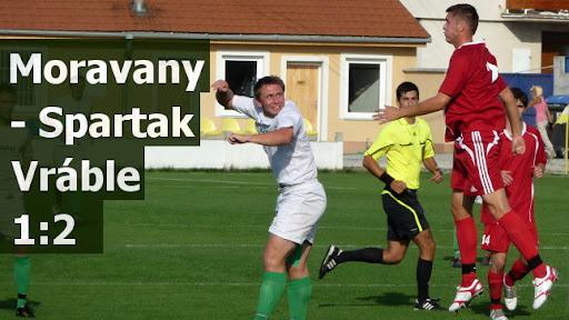 Moravany - Spartak Vráble 1:2