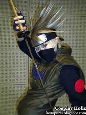 naruto cosplay - hatake kakashi