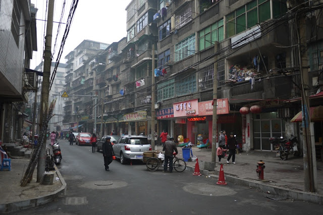 street in Hengyang, Hunan province, China