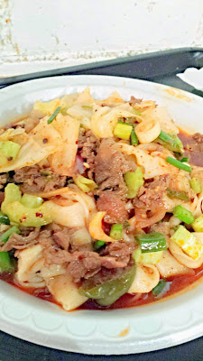 N1 Spicy Cumin Lamb Hand Ripped Noodles from Xi'an Famous Foods