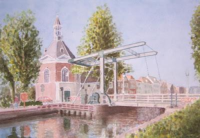 Sluisje Leidschendam http://www.watercolours.nl/
