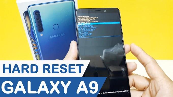 Hướng dẫn Hard Reset Samsung Galaxy A9 2018