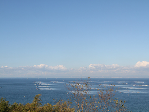 室津PAからの瀬戸内海の風景