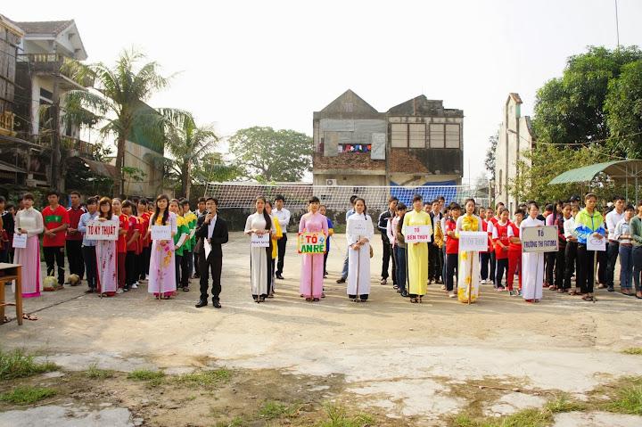 Khai Mạc Giải Bóng Chuyền Nữ Lần 3 - 2013