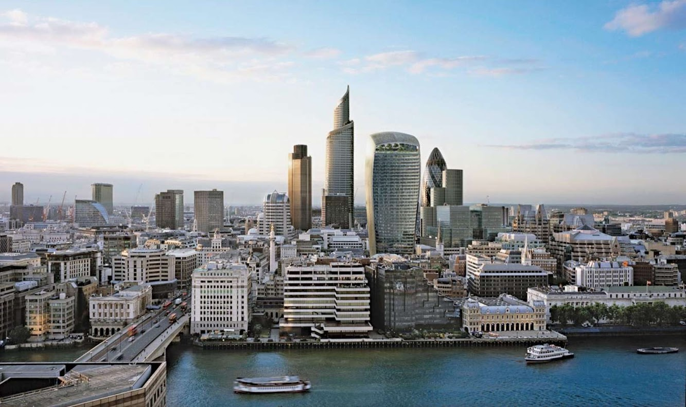 Londra, Regno Unito: 20 Fenchurch Street by Rafael ViÑOly Architects