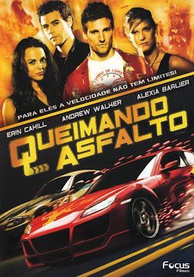 Filme Poster Queimando Asfalto DVDRip XviD Dual Audio & RMVB Dublado