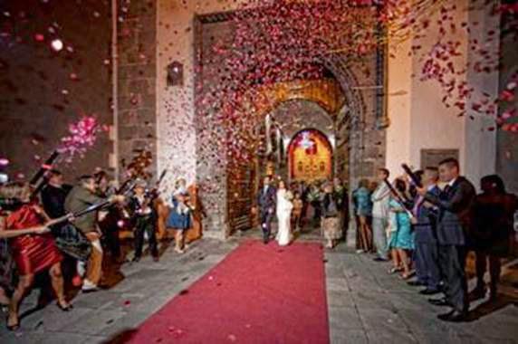 Confetti para bodas.