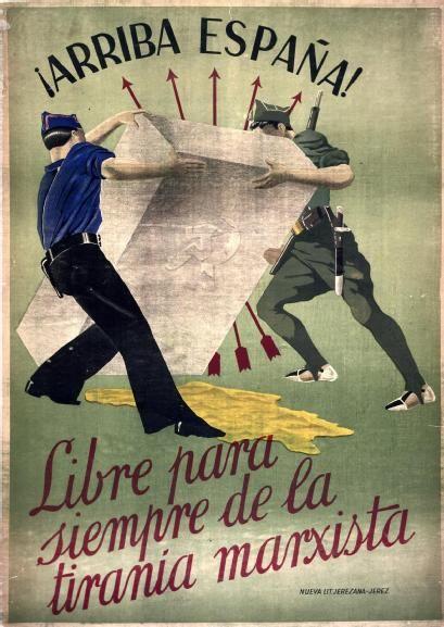Вперед, Испания! Освободимся навсегда от марксистского произвола