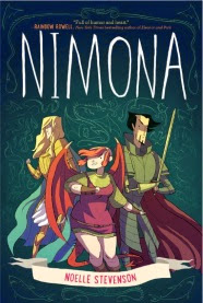 Cover art for Nimona