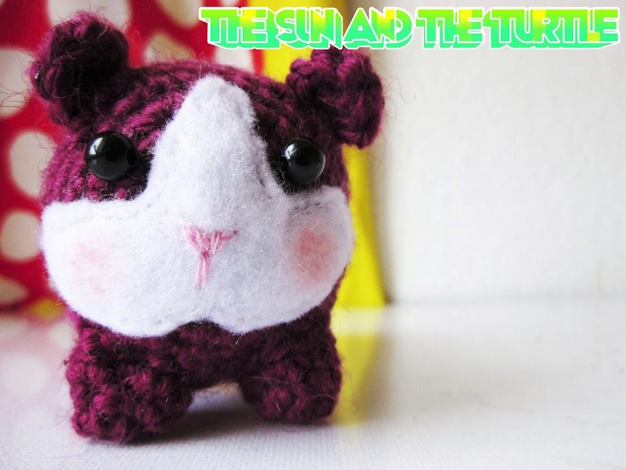 Crochet Amigurumi Guinea Pig : Amigurumi guinea pig free crochet pattern The Sun and ...