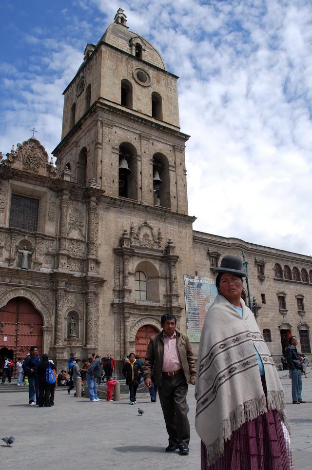 Cholas en la San Francisco, La Paz