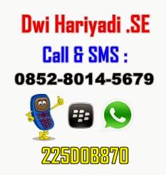 Sales KTA Dwi Hariyadi