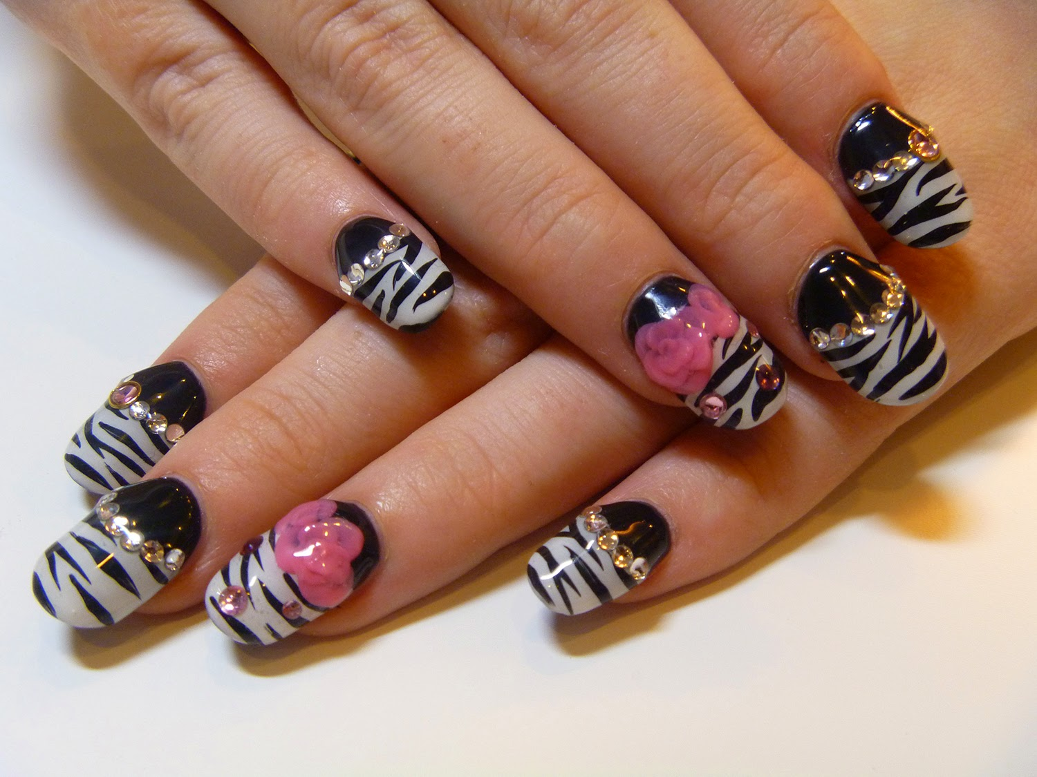 Nail Design Nail Art Design Animal Print