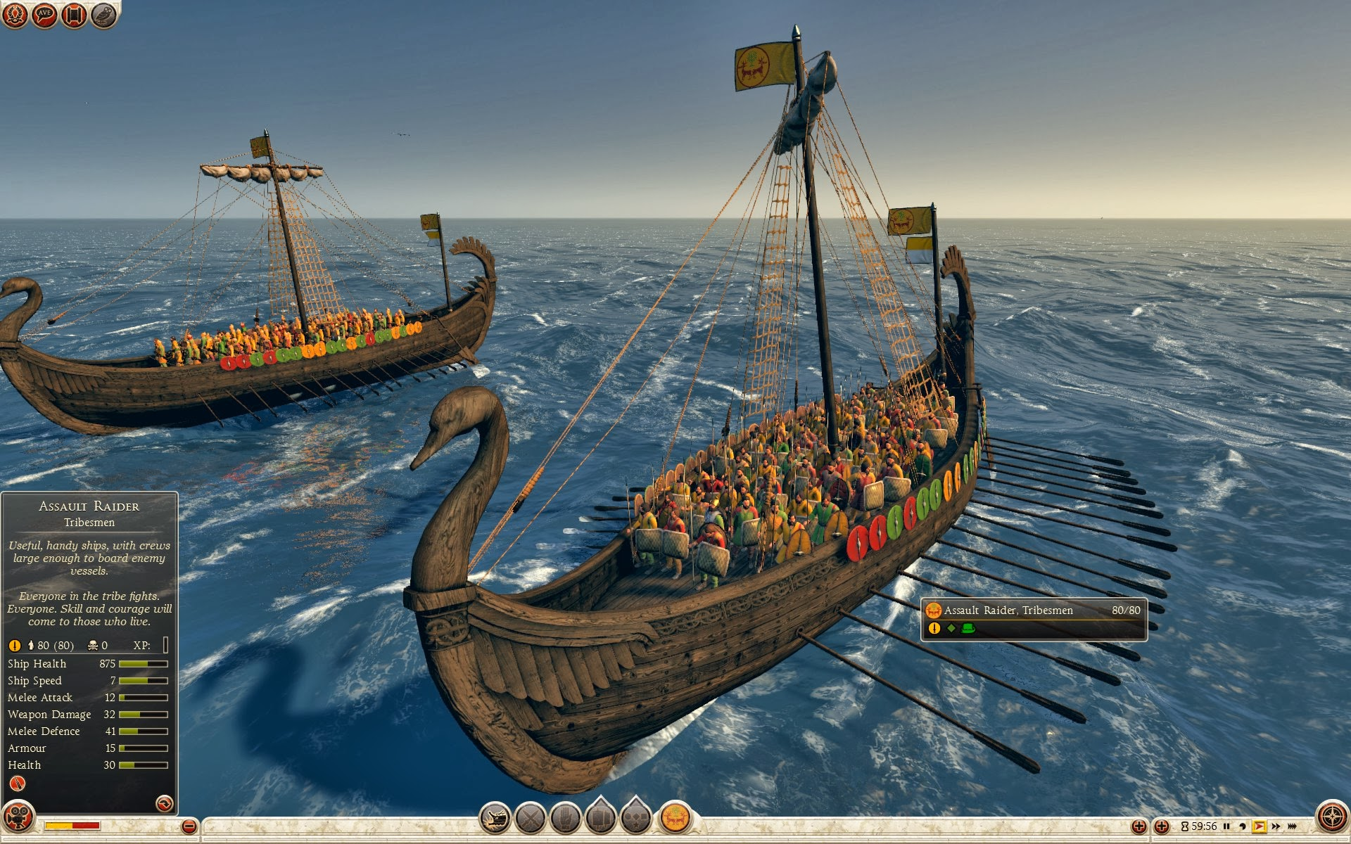 Assault Raider - Tribesmen - Royal Scythia - Total War ...