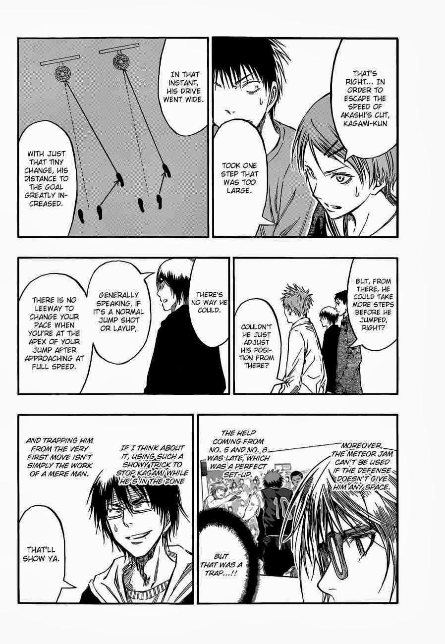 Kuroko no Basket Manga Chapter 234 - Image 14