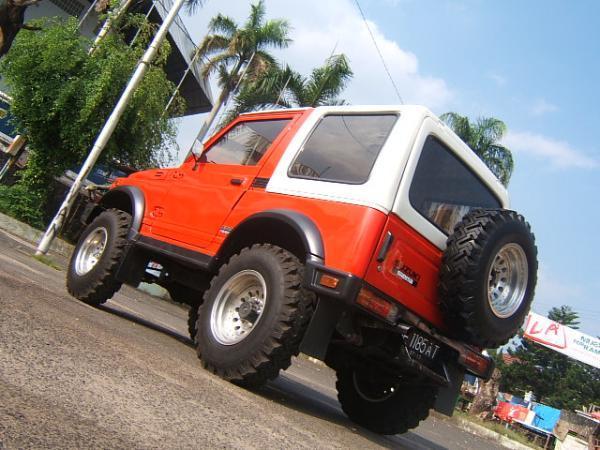 Suzukijeepinfo  Genta Jihadi  U2502 Suzuki Sj410 Sierra 1984