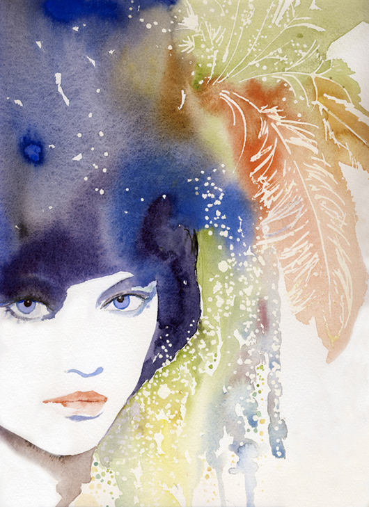 Galliano Feathers, de Cate Parr