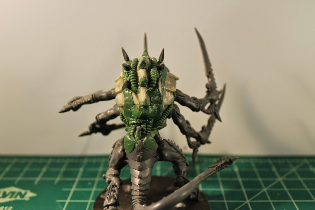 Swarmlord conversion in progress, back view