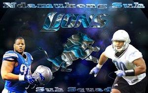 Ndamukong Suh Detroit Lions SuhSquad Wallpaper