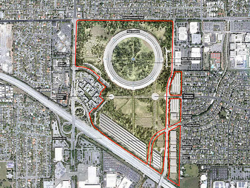 Cupertino, apple campus 2 , apple, apple campus 2 details , apple campus 2 pictures, imaging and photography,