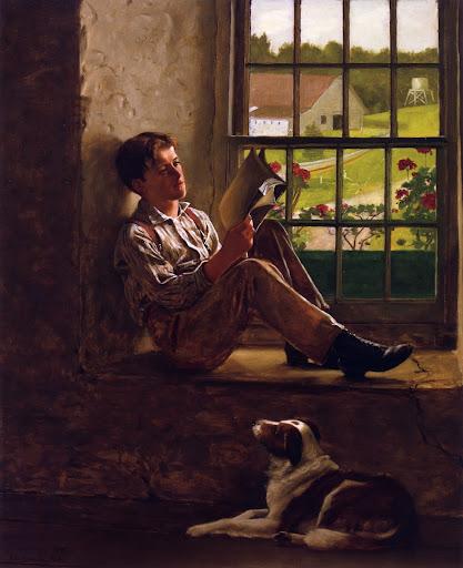 John George Brown - The Study Hour
