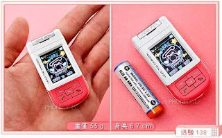 Handphone Terkecil di Dunia