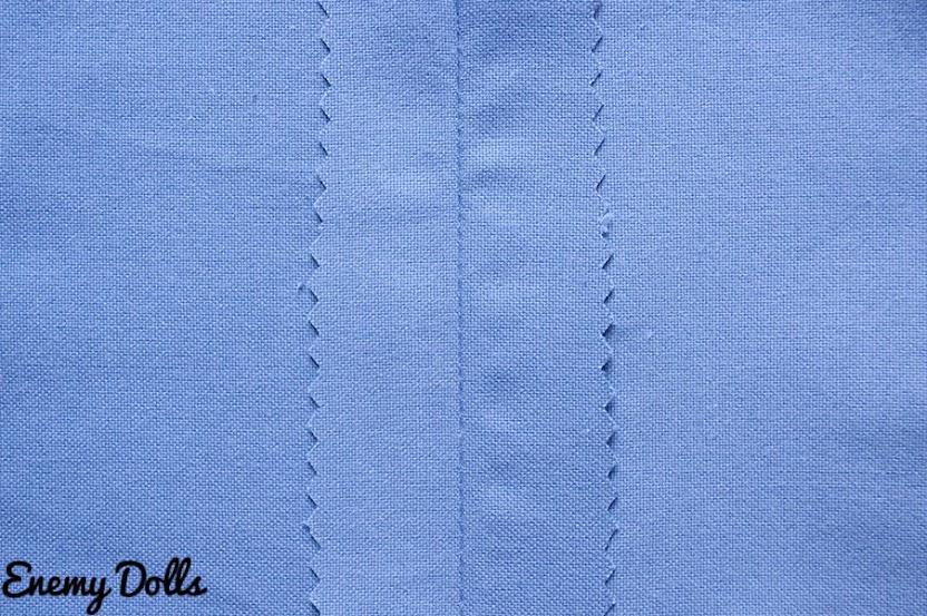 rematar coser costuras zig zag