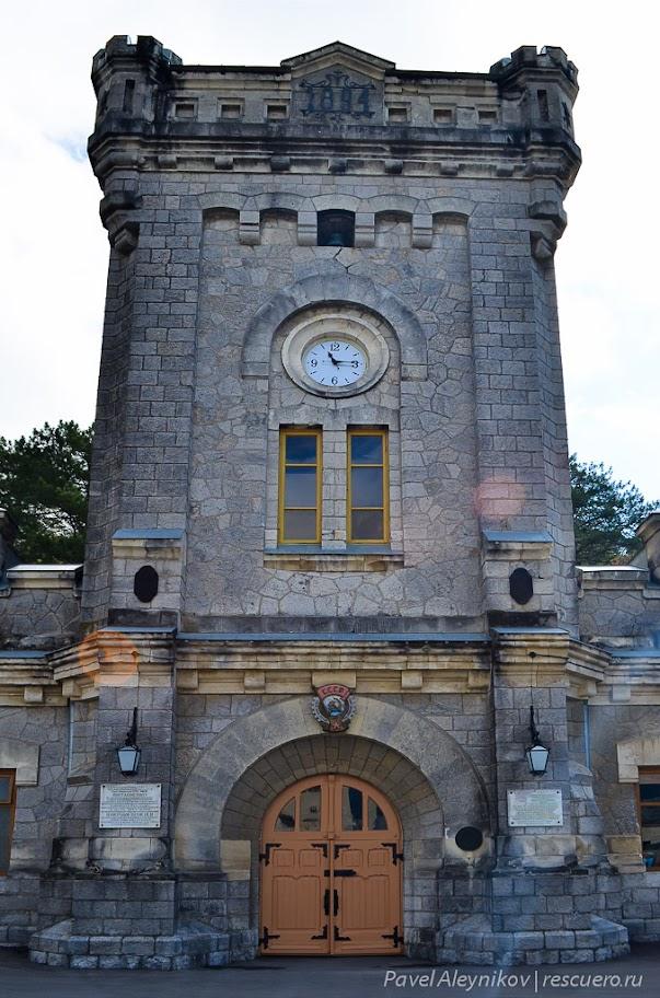"""Часы на башне """"Массандры"""""""