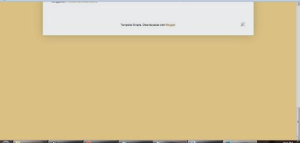 screenshot area kosong di bawah blog