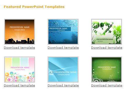sitios para descargar gratis plantillas de powerpoint