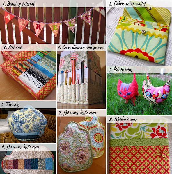 Last Minute Handmade Gifts Sewing Tutorials And Patterns