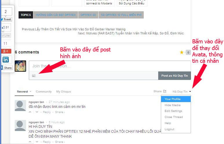 Hướng Dẫn Sử Dụng Hệ Thống Comment Disqus Tại Blog CongNgheMay.info 3